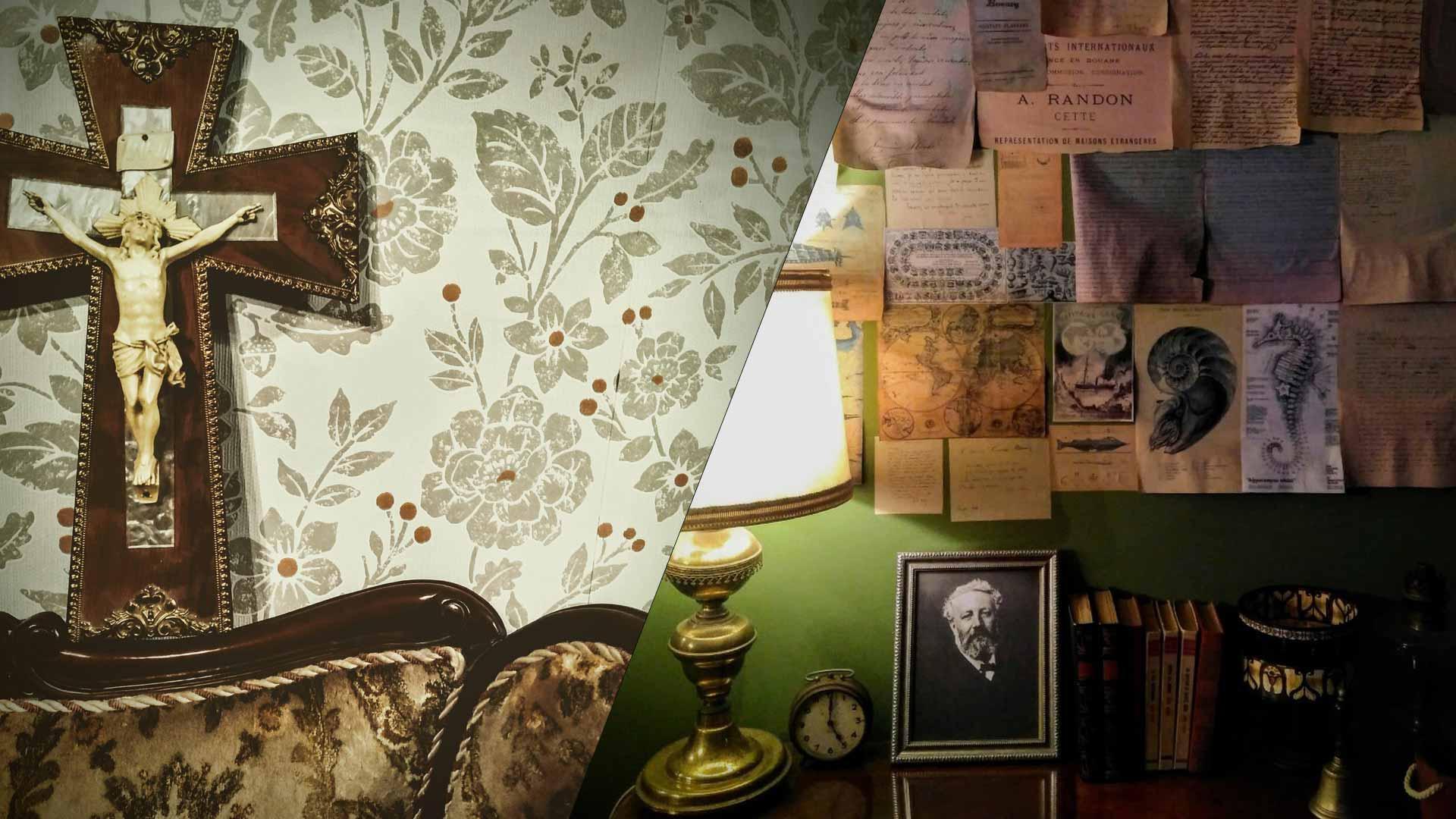 Sala de escapa en Santander, Daeomonium y Julio Verne